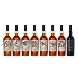 Game Of Thrones 8 Bottle Set Single Malt Scotch Whiskey Set 750ml liquor