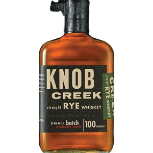 Knob Creek Kentucky Straight Rye Whiskey 750ml liquor