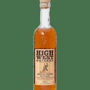 High West Praire Bourbon 750ml liquor