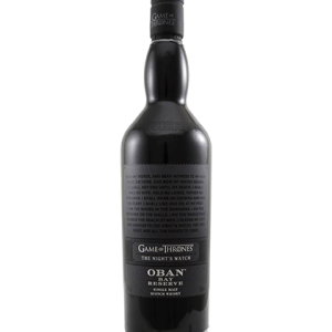 Game Of Thrones The Night's Watch – Oban Bay Reserve 750ml liquor