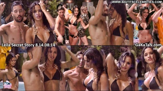 Leila Ben Khalifa Secret Story Big Tits Gorgeous Brunette Skinny