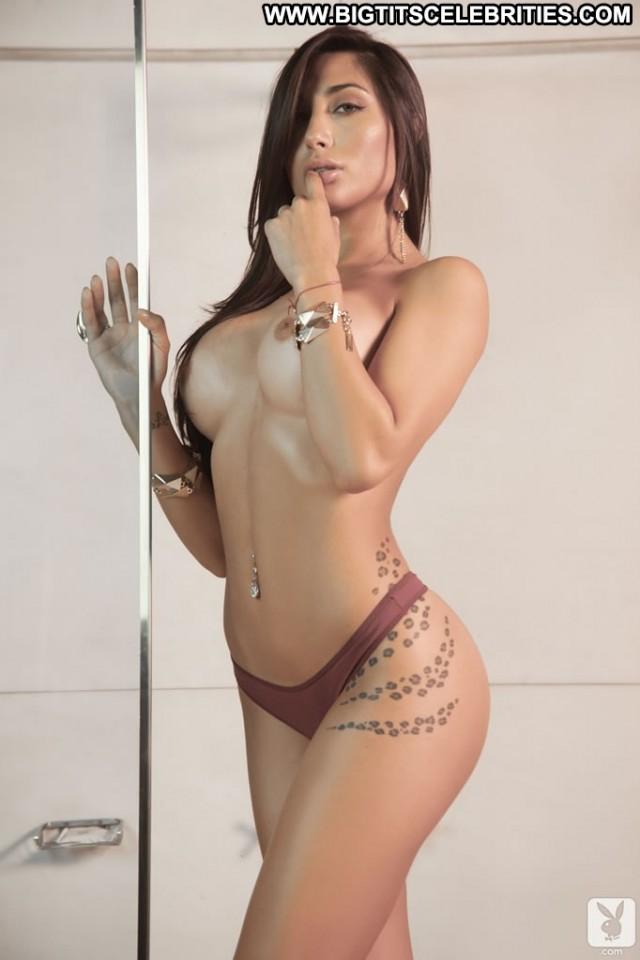 Belen Lavallen Notiblog Celebrity Sensual Big Tits Nice Brunette
