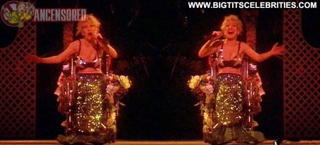 Bette Midler Divine Madness Stunning Posing Hot Redhead Singer Big