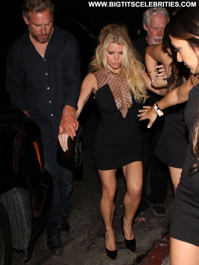 Jessica Simpson Los Angeles Bachelorette Party Celebrity Paparazzi