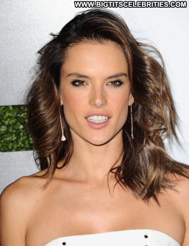 Alessandra Ambrosio Gq Men Of The Year Party Beautiful Babe Celebrity