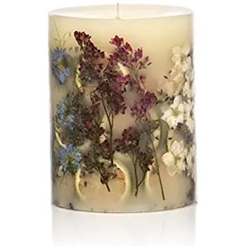 Rosy Ring Roman Lavender Candles
