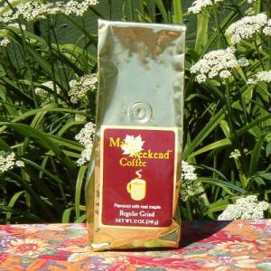 Real Organic NYS Maple Flavored Coffee