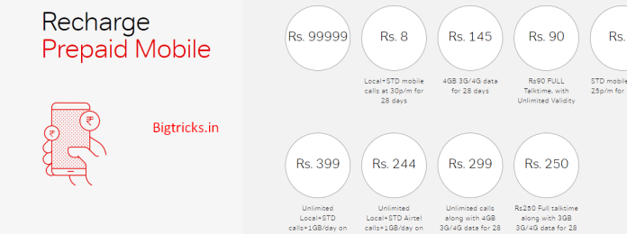 Screenshot 213 - Airtel 244 & 399 Plans : Get Unlimited Calling + Unlimited 4G Data for 70 Days
