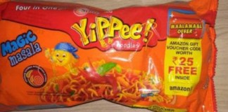 Yippee Noodles Offer