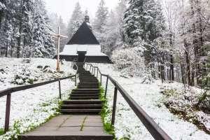 Zimowy weekend w Istebnie