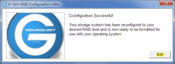 HACK] - Change G-RAID 2TB External RAID0 to RAID1