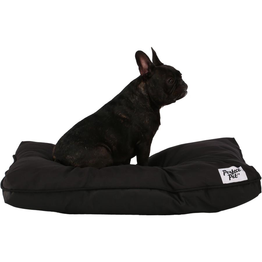 perfect pet large pillow bed black