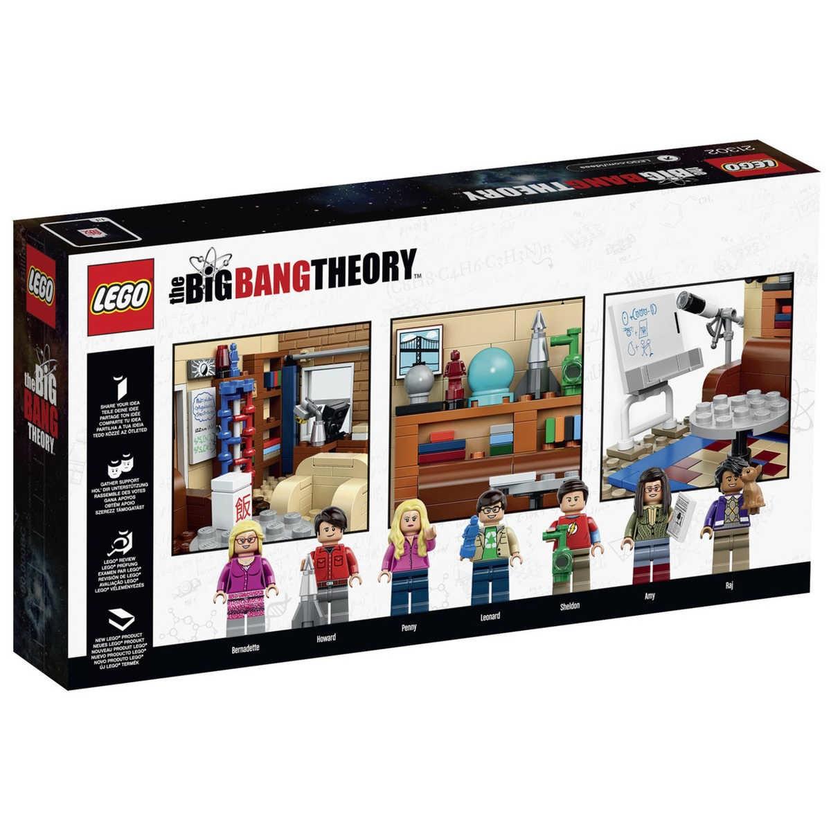 Lego Ideas The Big Bang Theory