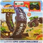 Hot Wheels Monster Trucks Epic Loop Challenge Playset Big W