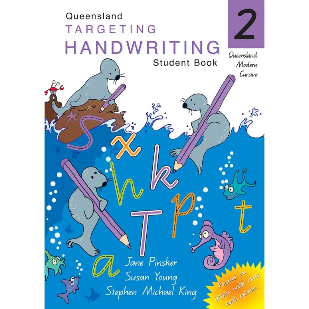 Qld Targeting Handwriting Student Book Year 2