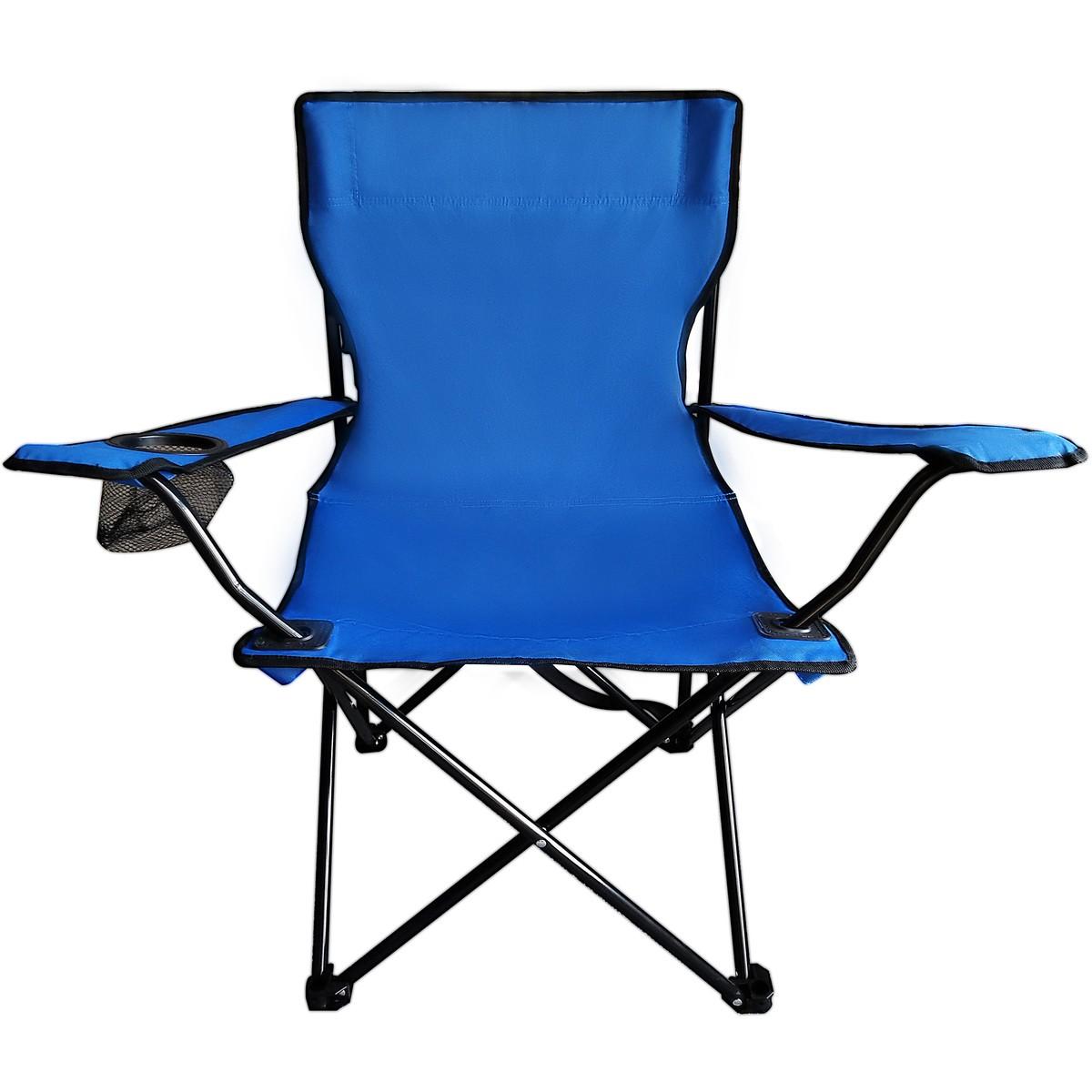 Hinterland Quad Camp Chair Blue