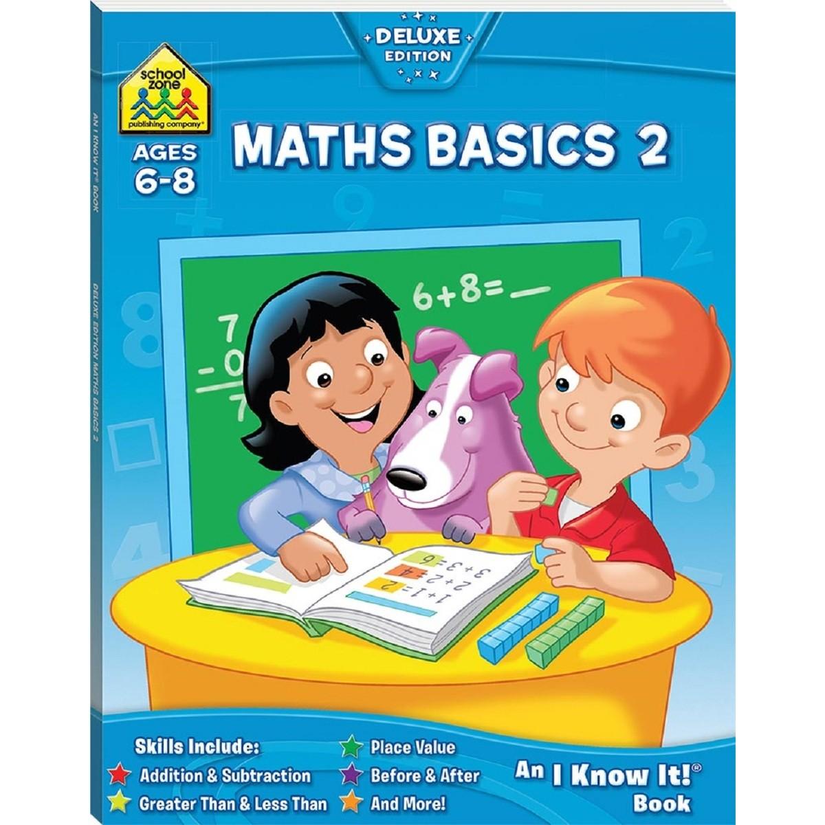 School Zone Maths Basics 2 I Know It Book