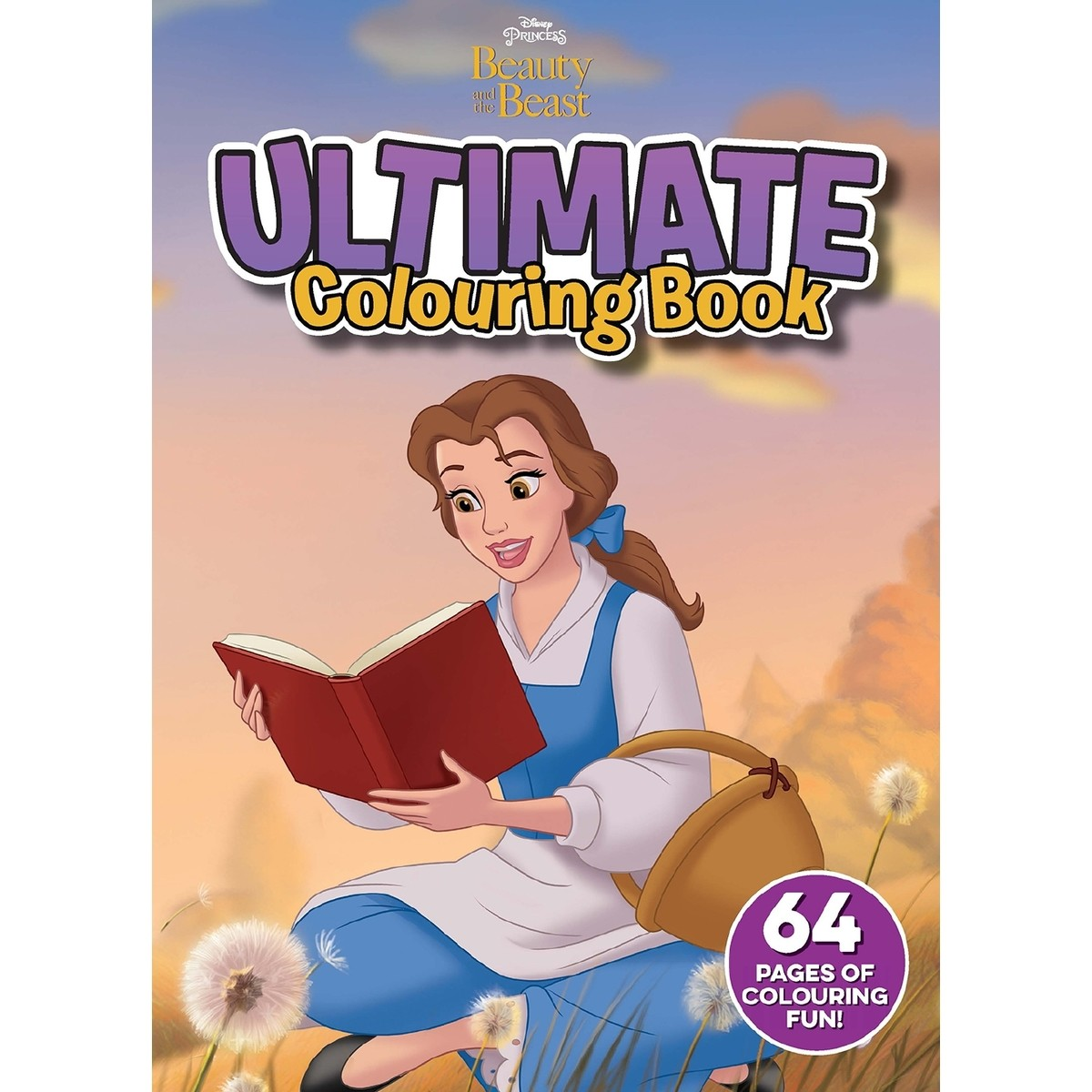 Beauty And The Beast Ultimate Colouring Book