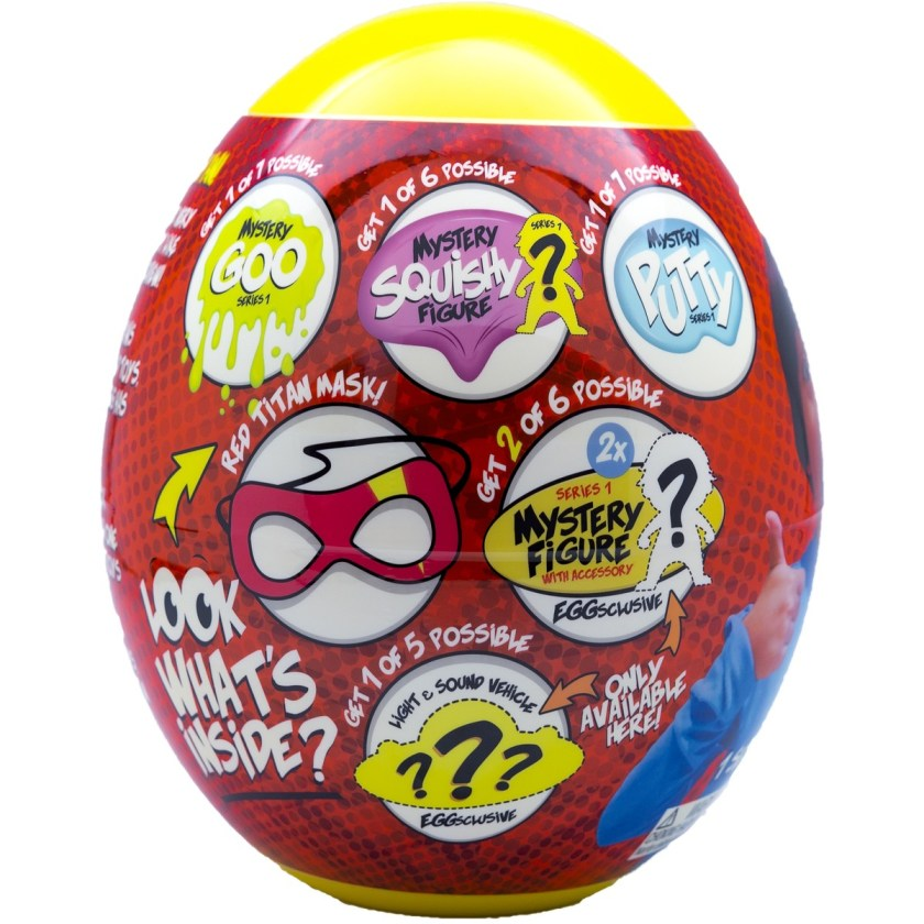 ryan's world egg surprise  assorted*  big w