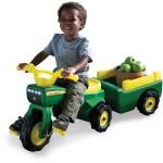 John Deere Pedal Trike And Detachable Wagon Big W
