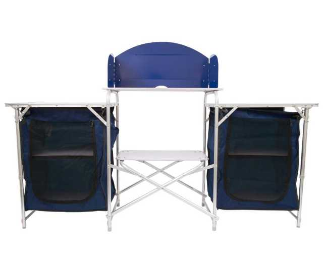 Oztrail Double Camp Kitchen With Windshield