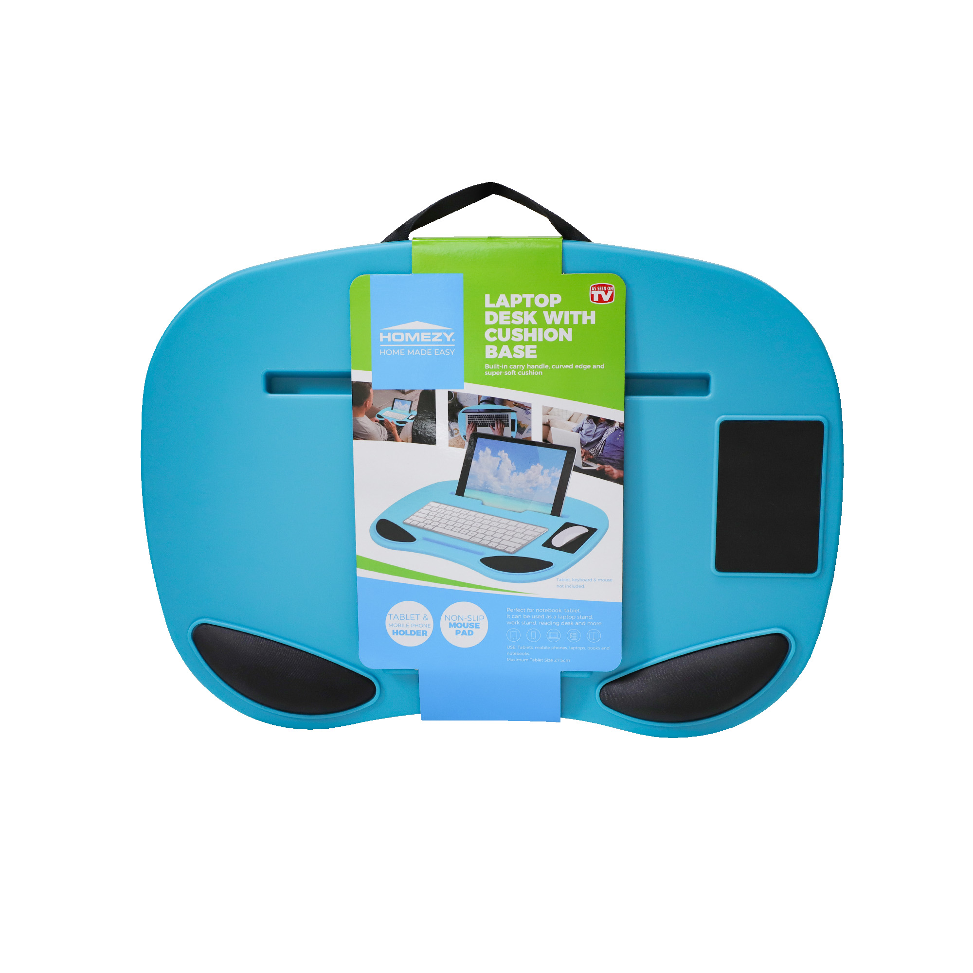 as seen on tv laptop desk with cushion base assorted