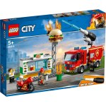 Lego City Burger Bar Fire Rescue 60214 Big W