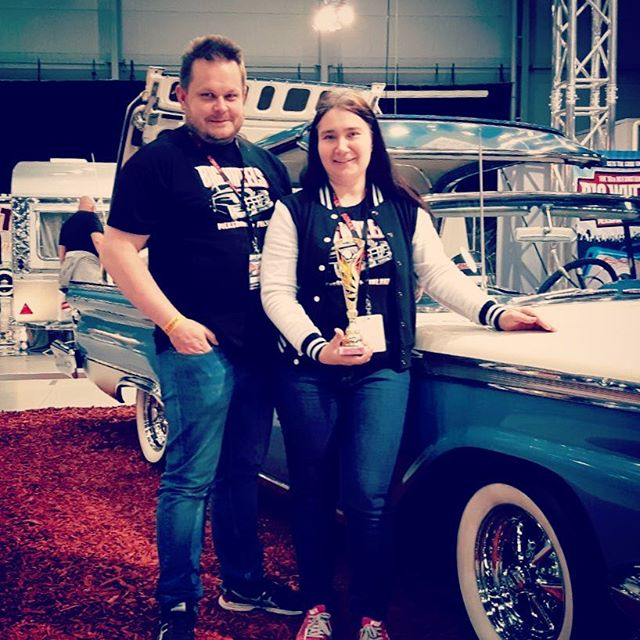 Ford Galaxie from our stand won the III prize in classic category at