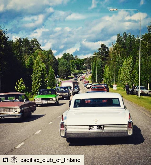 repost from @cadillac_club_of_finland from