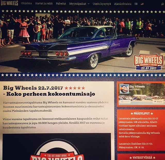 Big Wheels' official website at www.bigwheels.fi, link in our bio.