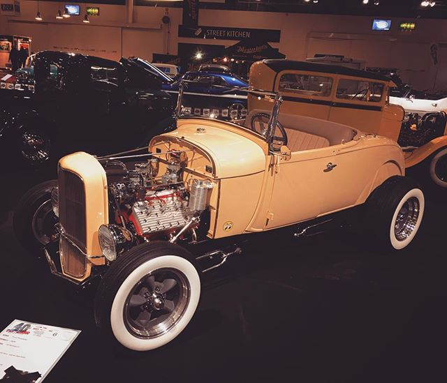 1928 Ford Roadster at American Car Show, Helsinki.