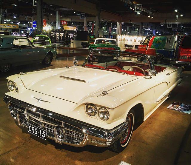 1960 Ford Thunderbird with 430ci engine. American Car Show, Helsinki.