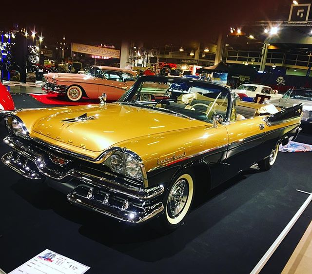 Dodge Custom Royal 1957 at American Car Show, Helsinki.