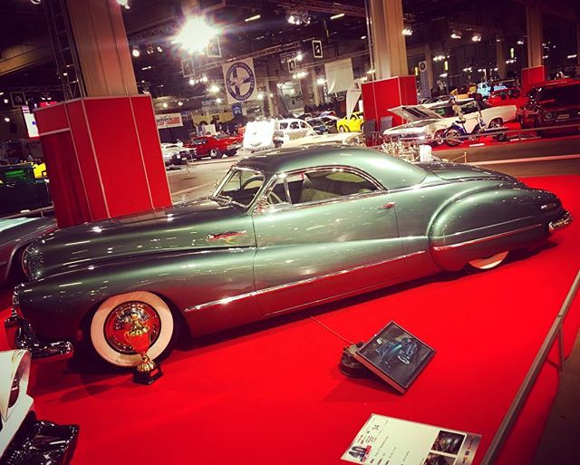 Incredible 1947 Buick Sedanette kustom by Petri Terho. American Car Show, Helsinki.