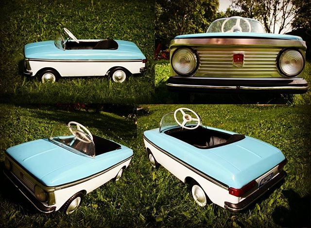 Onko sinulla vanha polkuauto? Muistathan, että Big Wheelsissä on myös polkuautojen kokoontumisajot! Do you have a old pedal car? We have also a special pedal car meeting at Big Wheels!