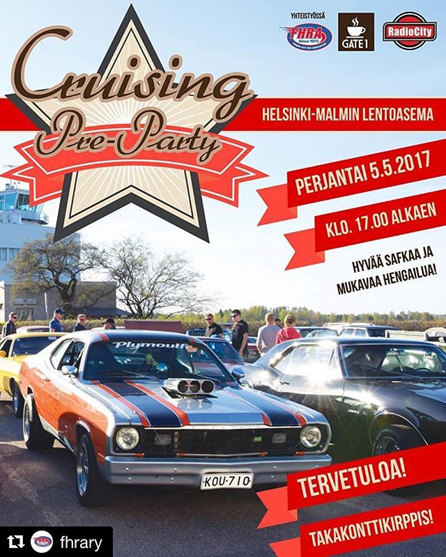 pre-cruising season is on! check out this awesome event at Malmi airport by @fhrary