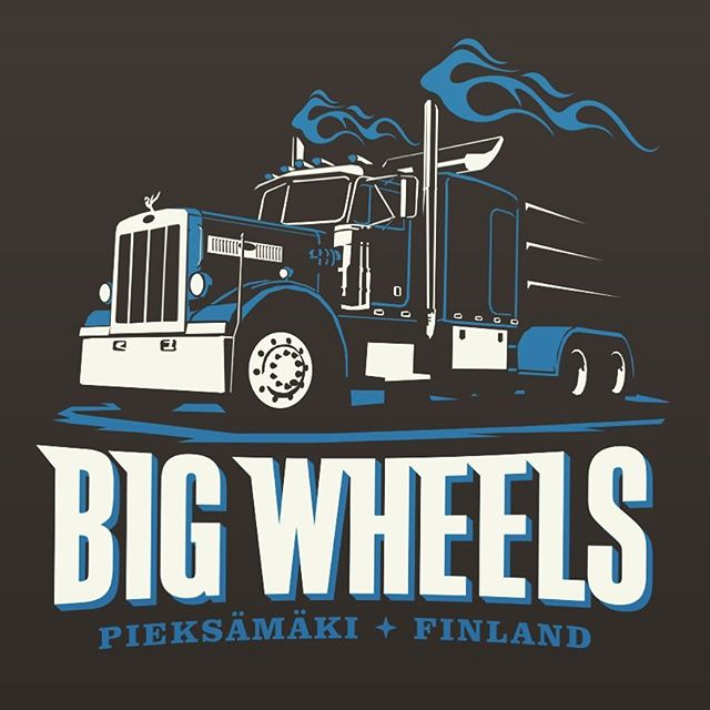 we think this year's official t-shirt design is quite awesome, what's your opinion? ...shirts available at Big Wheels 2017, 15€/20€