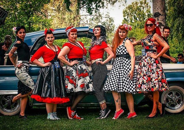 repost from @undergroundmodel, lovely UGM2017 finalists at Big Wheels, Pieksämäki Finland 22.7.2017