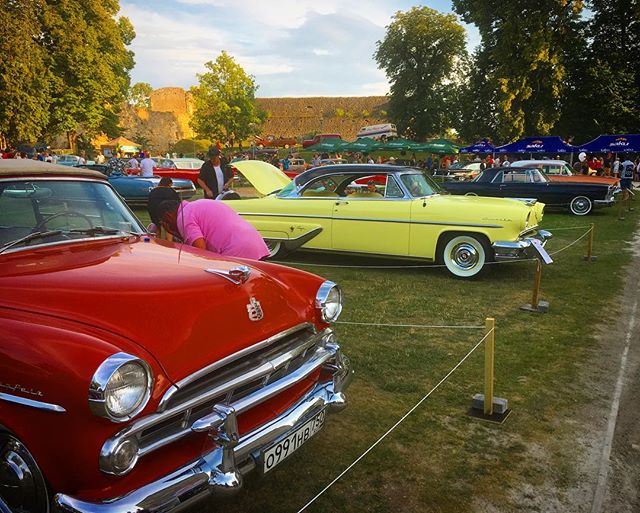 American Beauty Car Show, Haapsalu, Estonia.