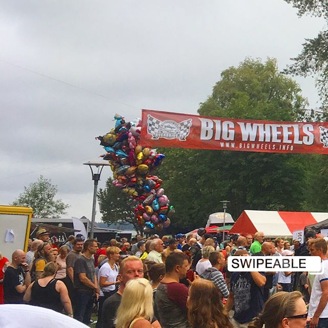 Thank you to everyone at Big Wheels 2018 - you we're an amazing audience! See you again on July 20th 2019.