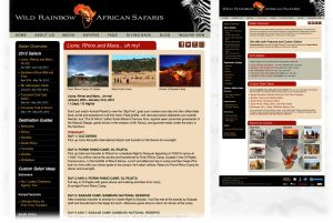 Wild Rainbow African Safaris  |  Safari + Sub Pages