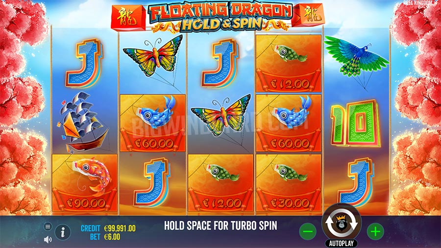 Floating Dragon Free Slot