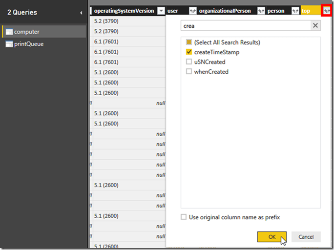 Power BI and Active Directory 11