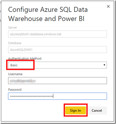 Azure SQL Data Warehouse and Power BI 14