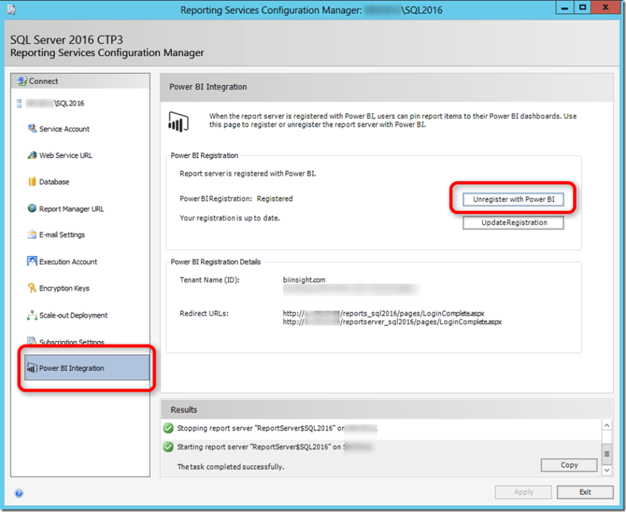 SSRS 2016 and Power BI 03
