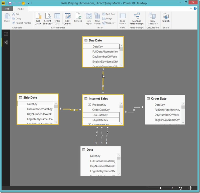 Power BI Desktop Relationships 3