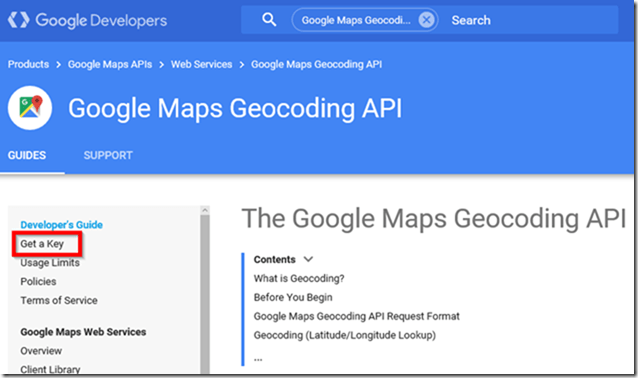 Power BI and Google Maps API (Address Lookup)
