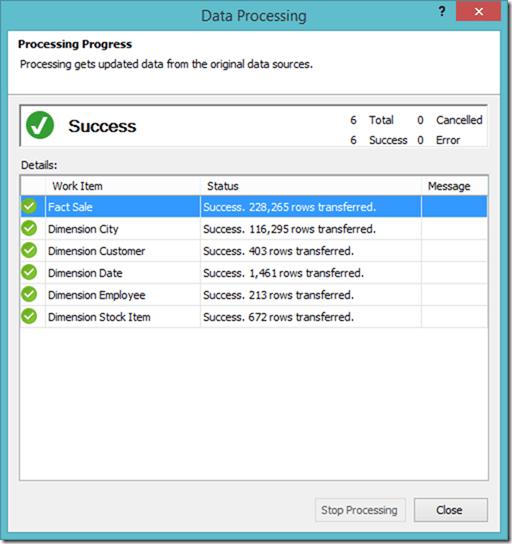SSAS Tabular Process Full