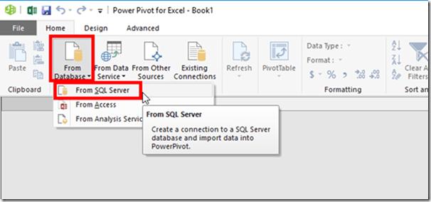 Power Pivot Get External Data From