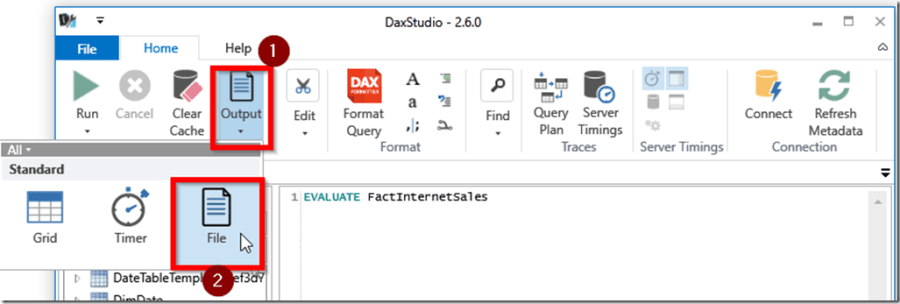 Exporting Data from Power BI Desktop to Excel and CSV – Part